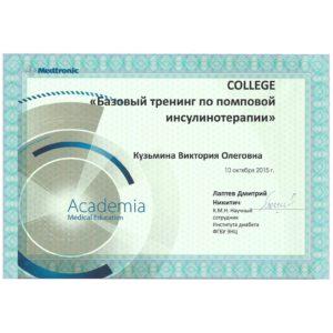 Сертификаты Кузьмина В.О.-2